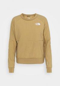 W VENTRIX LT HYBRID PULLOVER - Outdoor jacket - moab khaki
