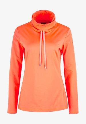 CLIME - Fleece jumper - fiery coral