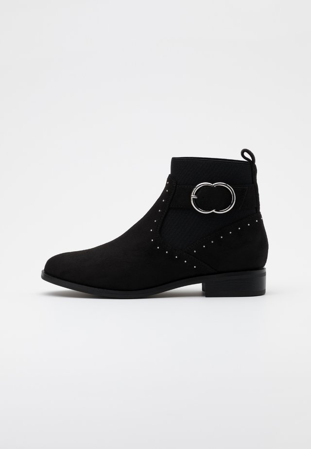 ONLBOBBY LIFE BUCKLE BOOT  - Bottines - black