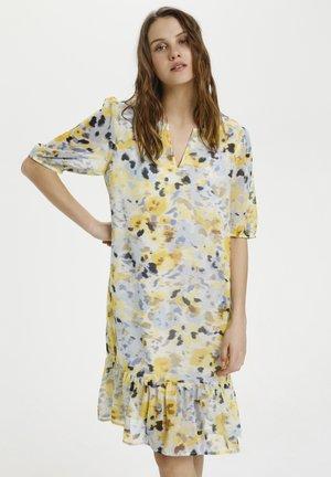 GROSZ - Day dress - mauve vapour florals