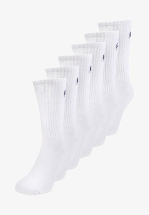 BLEND PLAYER EMBRO 6 PACK - Socks - white