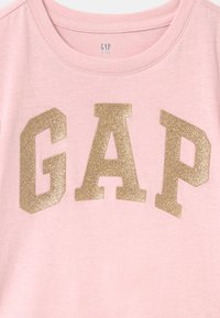 GAP - GIRL LOGO - T-shirt imprimé - pure pink - 2