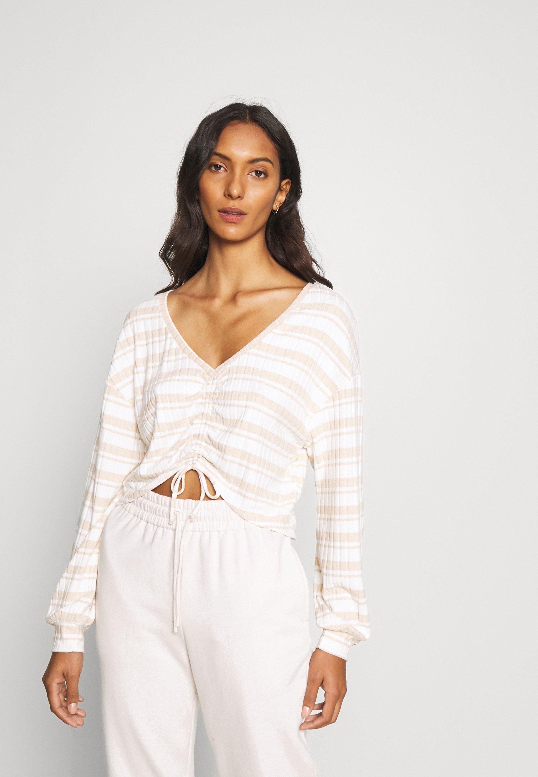 Women WIDE RIB CINCH - Pyjama top
