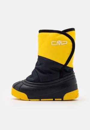 BABY LATU UNISEX - Zimní obuv - yellow/blue