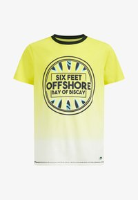 WE Fashion - Print T-shirt - yellow - 3