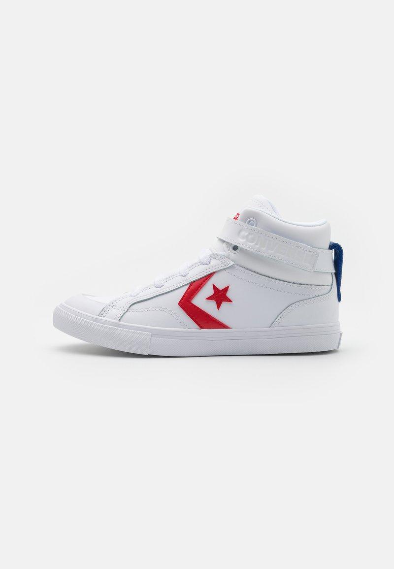 Converse - PRO BLAZE STRAP VARSITY UNISEX - High-top trainers - white/university red/blue
