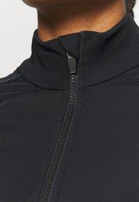 Sweaty Betty - THERMODYNAMIC HALF ZIP REFLECTIVE - Fleece jumper - black - 3