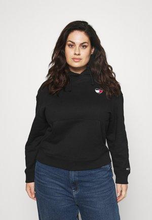 HOMESPUN HEART HOODIE - Sweatshirt - black