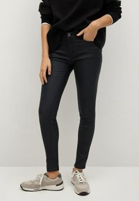 Mango - Jeans Skinny Fit - zwart - 0