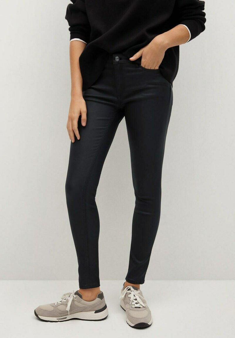 Mango - Jeans Skinny Fit - zwart