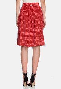 Vive Maria - Monaco  - Pleated skirt - red - 2