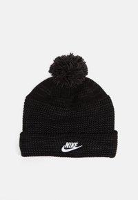 Nike Sportswear - CUFFED BEANIE FUT POM UNISEX - Mütze - black/white - 0