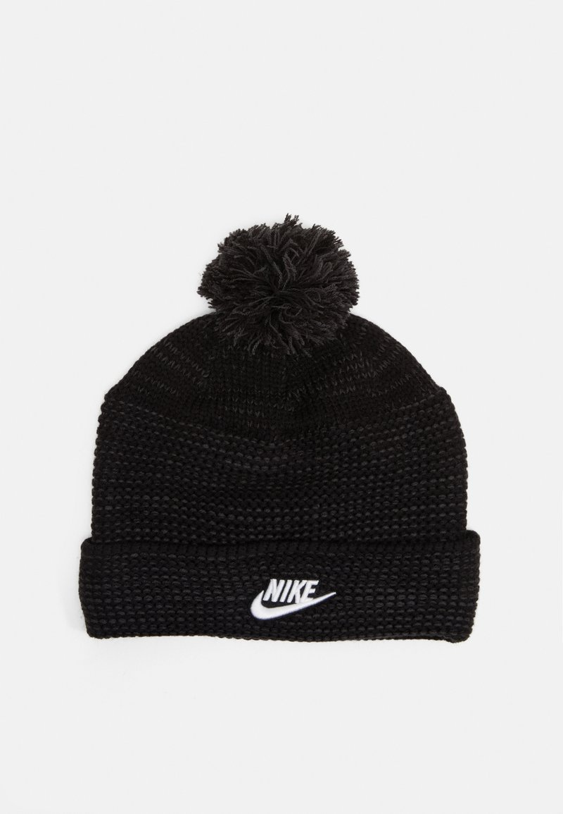 Nike Sportswear - CUFFED BEANIE FUT POM UNISEX - Mütze - black/white