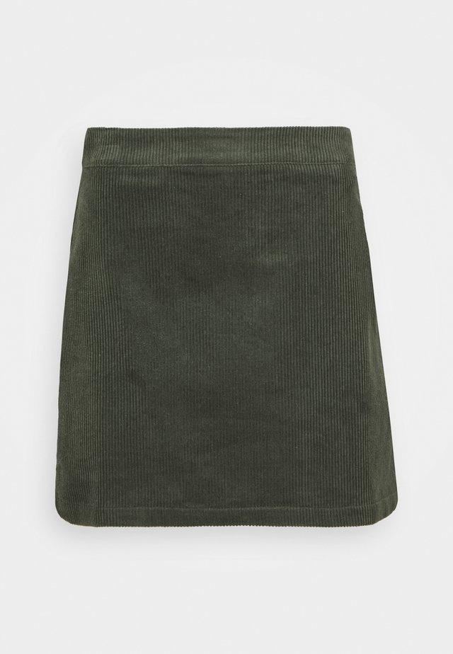 MINI SKIRT - Mini skirt - dark green