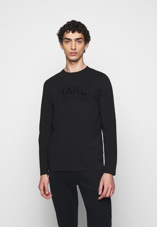 CREWNECK  - Bluzka z długim rękawem - black
