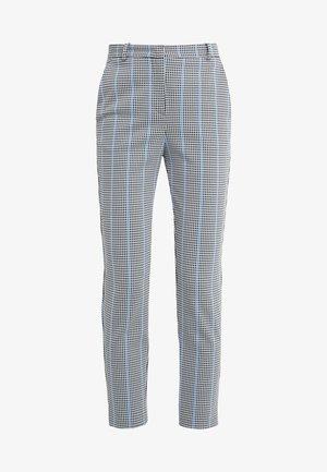 BELLA PANTALONE - Trousers - multi/bianco/nero/bluette