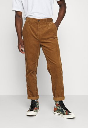 ABBOTT PANT FORD - Trousers - hamilton brown rinsed