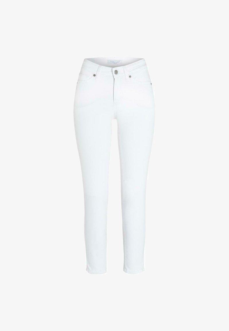Cambio - PIPER - Slim fit jeans - white