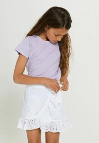 Shiwi - Wrap skirt - bright white - 4
