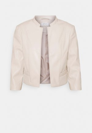 ONLKIERA JACKET - Giacca in similpelle - pumice stone