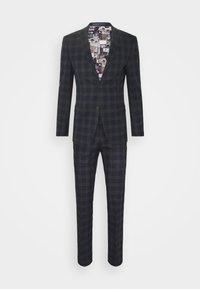 Ben Sherman Tailoring - CHECK SUIT - Kostym - navy - 9