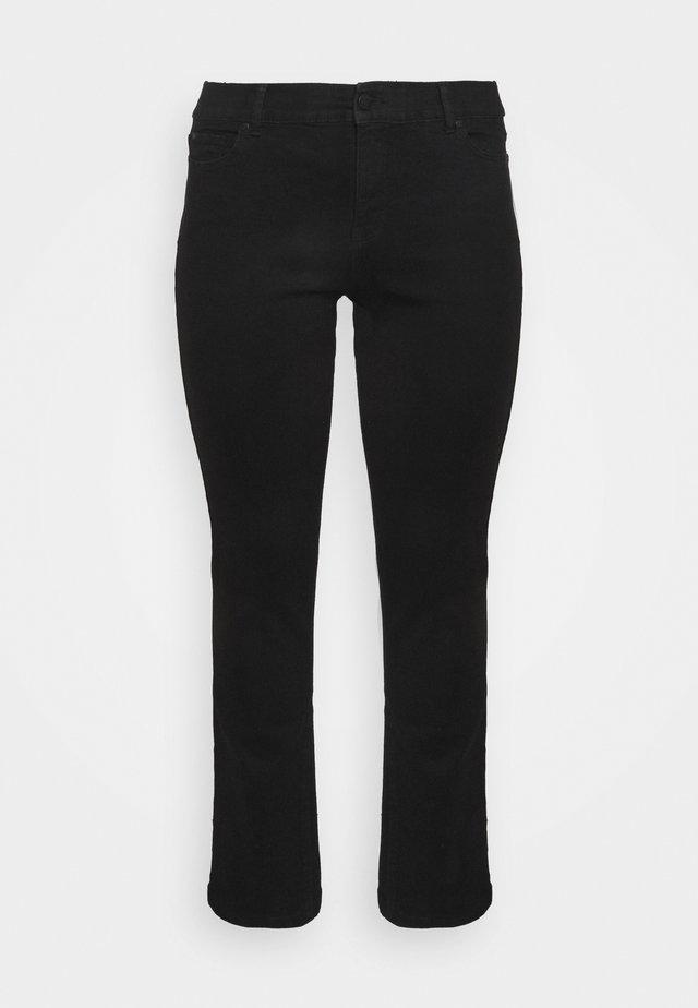 LEG LONG - Straight leg jeans - black