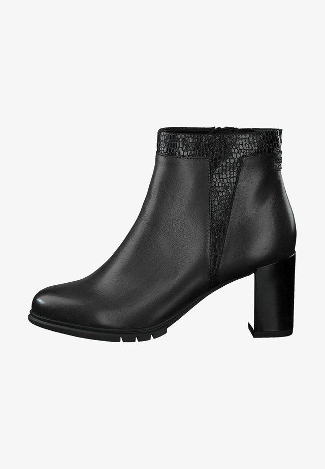 Boots à talons - anthrac/struct