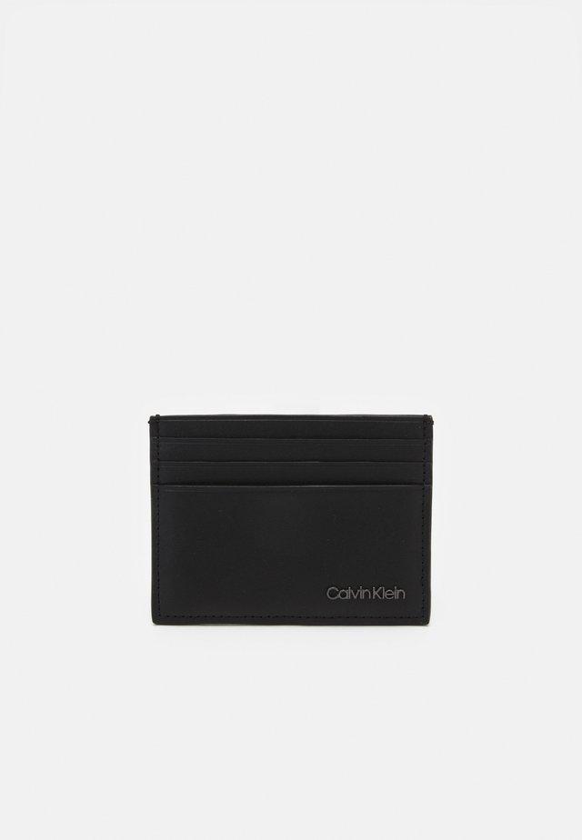 CARDHOLDER UNISEX - Plånbok - black