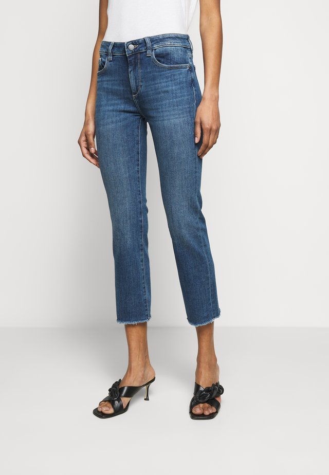 MARA ANKLE MID RISE  - Jeans straight leg - chancery