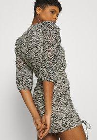 Gina Tricot - MICHELLE DRESS - Cocktail dress / Party dress - white spot - 4