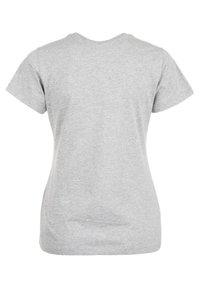 New Balance - STACKED LOGO  - Print T-shirt - athletic grey - 5