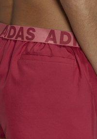 adidas Performance - BEACH SHORTS - Swimming shorts - pink - 4