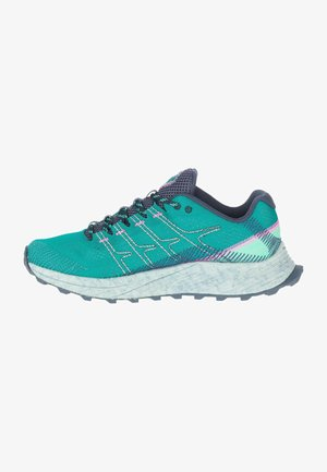 MOAB FLIGHT - Trail running shoes - blue