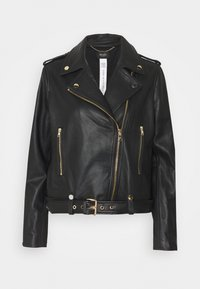 LIU JO - CHIODO - Leather jacket - nero - 4