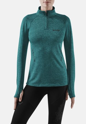 Sports shirt - green melange