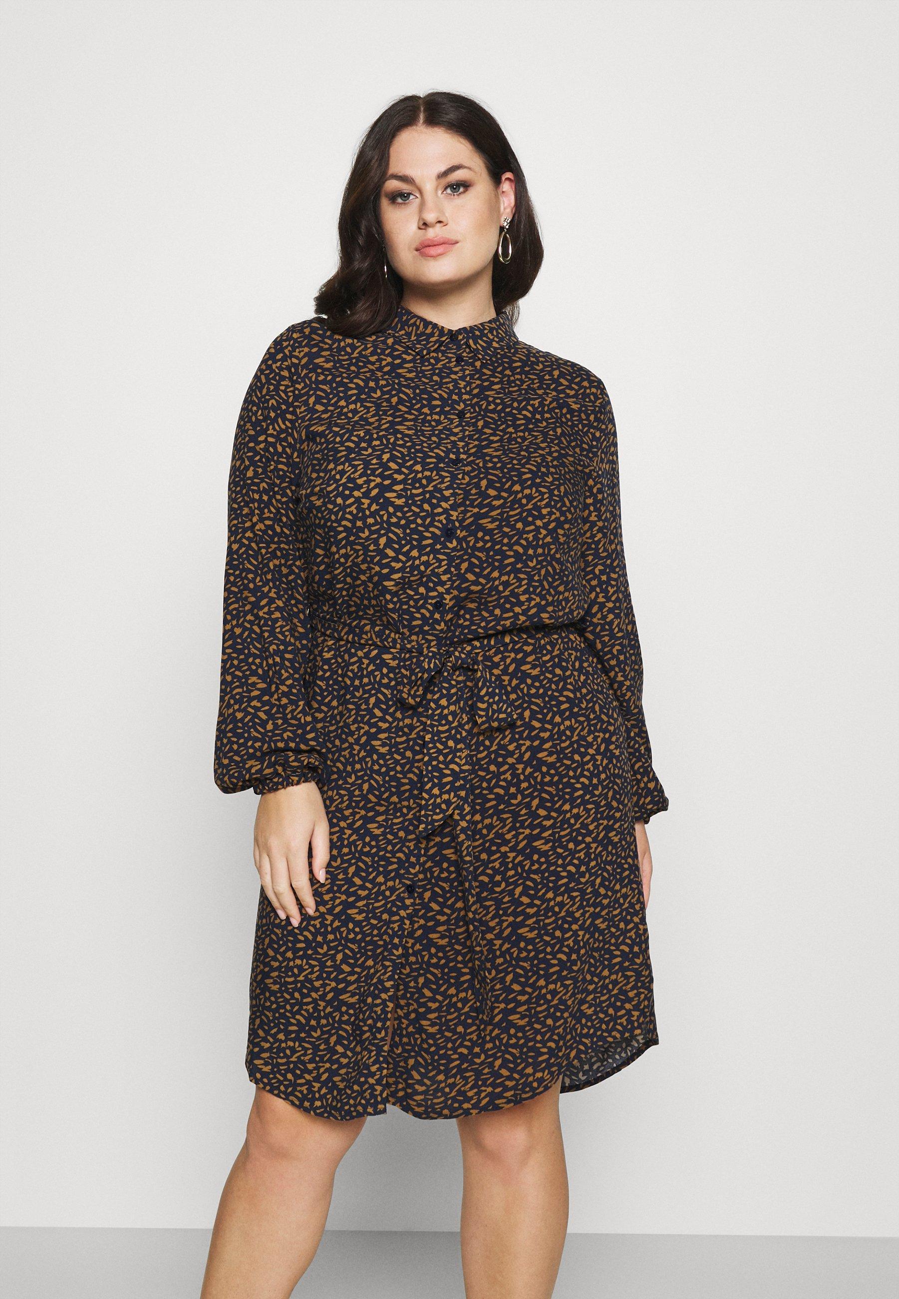 Mujer CARLOLLIEMMA LS SHIRT DRESS - Vestido informal