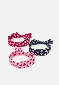 OVS - HEADBAND KNOTS 3 PACK UNISEX - Hair Styling Accessory - blushing bride/blueberry/scarlet sage - 0