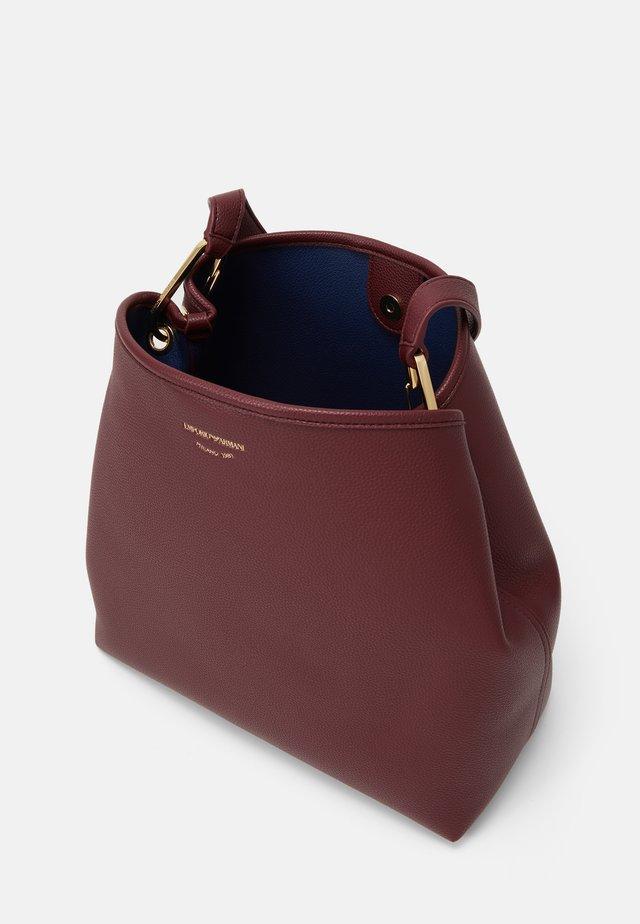 WOMEN BAG - Bolso de mano - vinaccia/oltremare