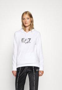 EA7 Emporio Armani - Sweatshirt - white/black - 0