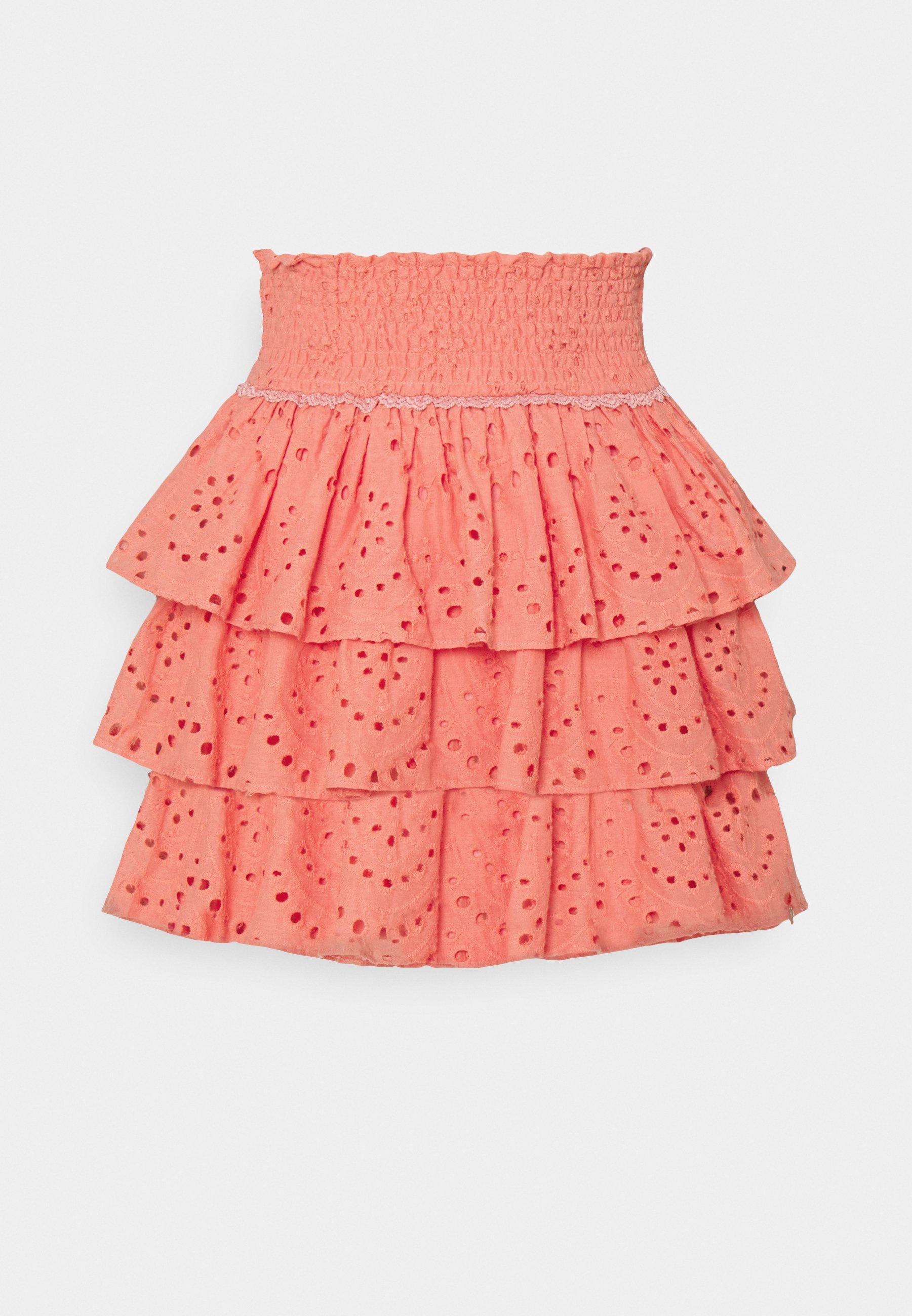 Women NUNA BRODERIE ANGLAISE LAYER MINI SKIRT - Mini skirt