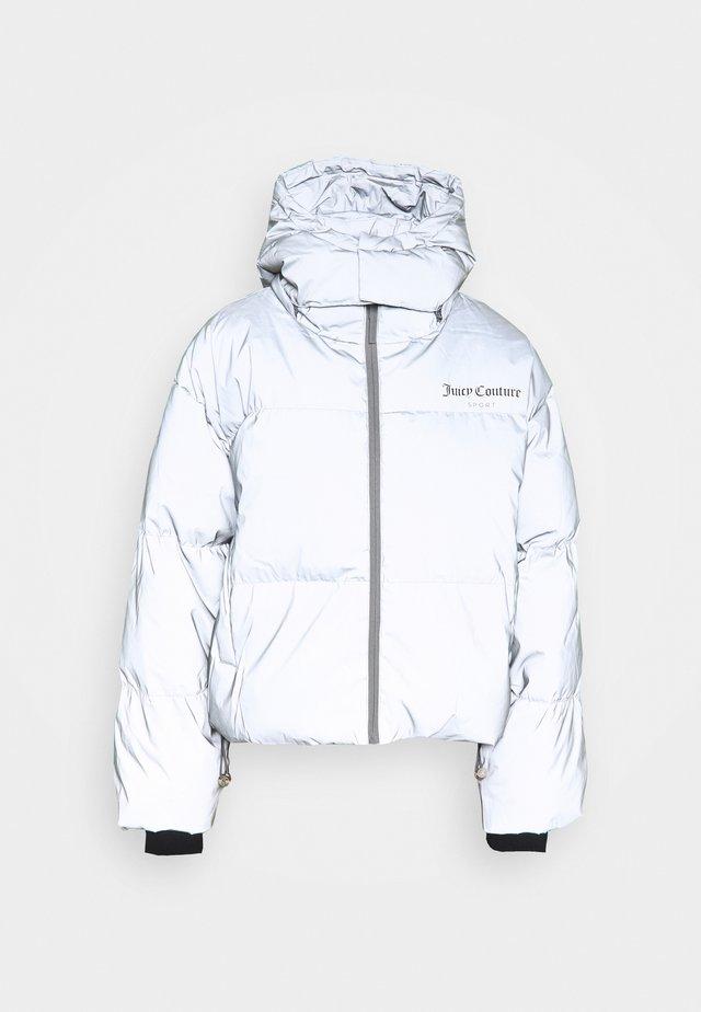 NURIYA - Zimní bunda - silver marl