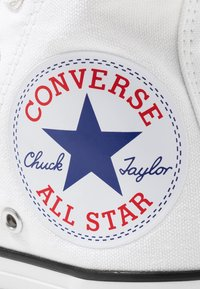 Converse - CHUCK TAYLOR ALL STAR OVERSIZED LOGO - High-top trainers - white/black - 2