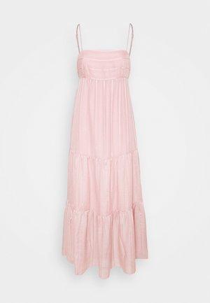 FAITH TIERED MIDI DRESS - Maxi šaty - blush