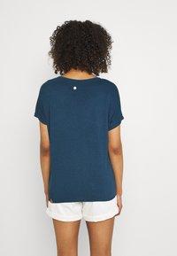 Ragwear - PECORI - Print T-shirt - navy - 2