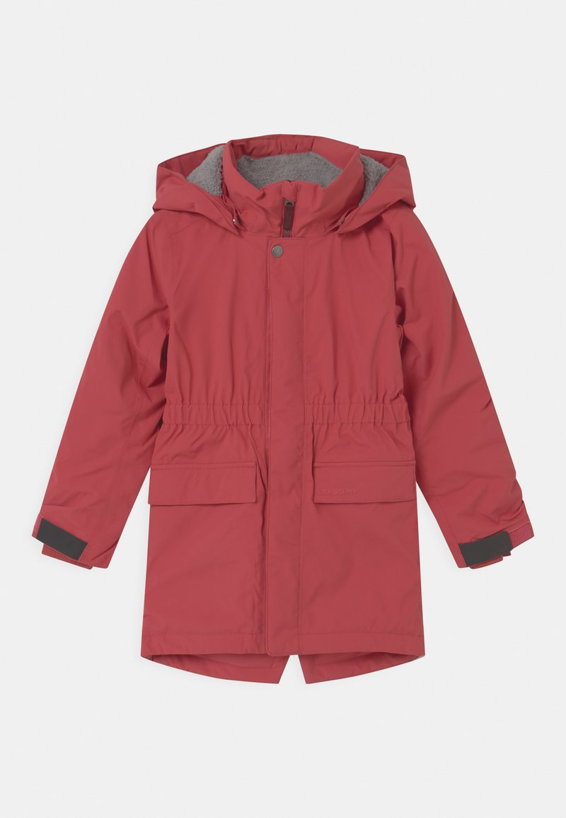 Didriksons - RONNE UNISEX - Parka - red