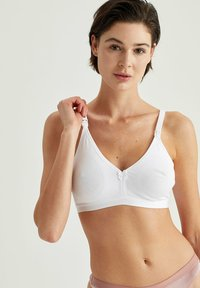 DeFacto - Triangle bra - white - 0