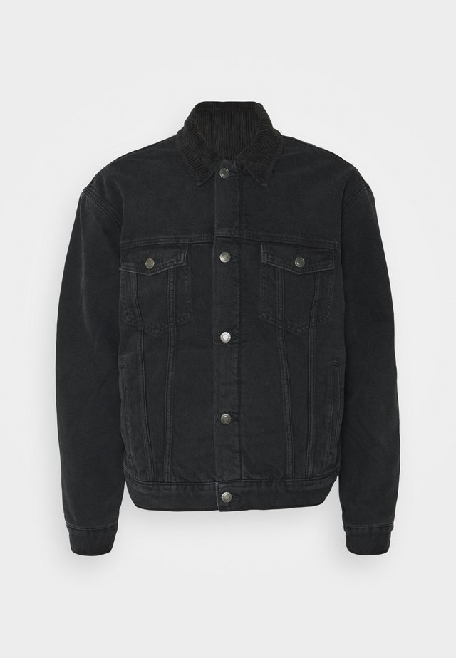 Denim jacket - black denim