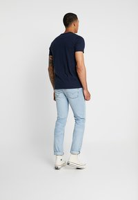 Hollister Co. - ICON VARIETY - Basic T-shirt - navy/mint - 2