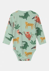 Lindex - ANIMAL 2 PACK UNISEX - Body - green - 1