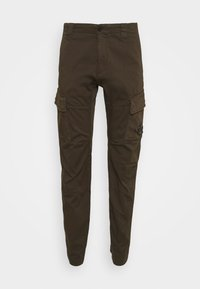 PANTS - Cargo trousers - ivy green
